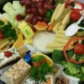 Small Fruit, Vegetable, Dessert and Cheese Tray