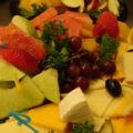 Large Cheese and Fruit Tray
