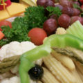 Large Cheese, Vegetable and Fruit Tray