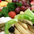 Small Cheese, Vegetable and Fruit Tray